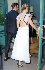 EMILY BLUNT and John Krasinski Out for Dinner in New York 07/09/2018
