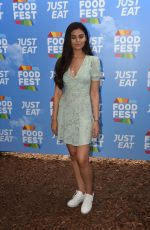 EMILY CANHAM at Just Eat Food Fest in London 07/19/2018