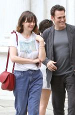 EMILY MORTIMER and Matt Dillon Out in Venice 07/16/2018