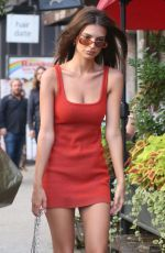 EMILY RATAJKOWSKI Arrives at Her Hotel in New York 07/26/2018