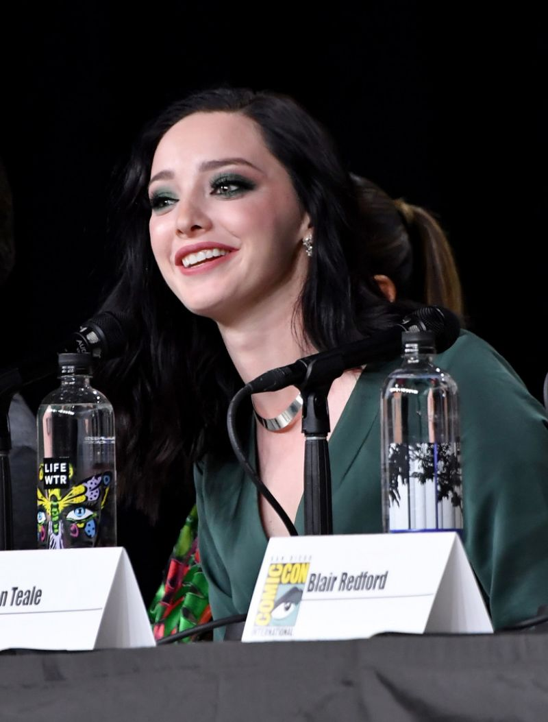 EMMA DUMONT at The Gifted Panel at Comic-con in San Diego ...
