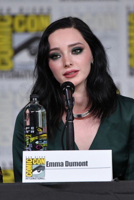 EMMA DUMONT at The Gifted Panel at Comic-con in San Diego 07/21/2018
