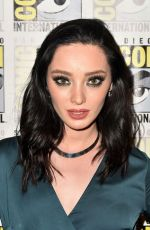 EMMA DUMONT at The Gifted Photocall at Comic-con in San Diego 07/21/2018