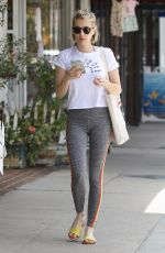 EMMA ROBERTS Heading to a Gym in Studio City 07/07/2018