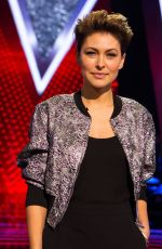 EMMA WILLIS at The Voice Kids TV Show 07/14/2018