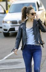EMMY ROSSUM Out for Dinner at Tocaya Organic Mexican Restaurant in Los Angeles 07/02/2018