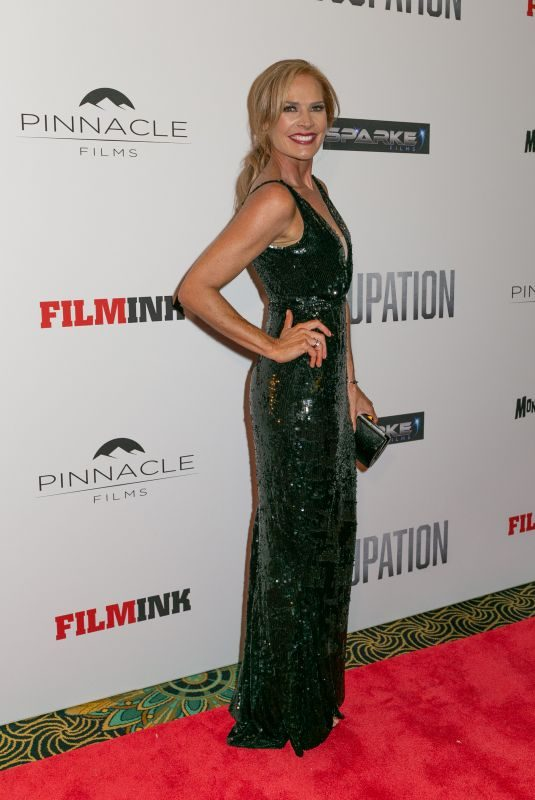 ERIN CONNOR at Occupation Premiere at Ritz Cinema in Sydney 07/10/2018