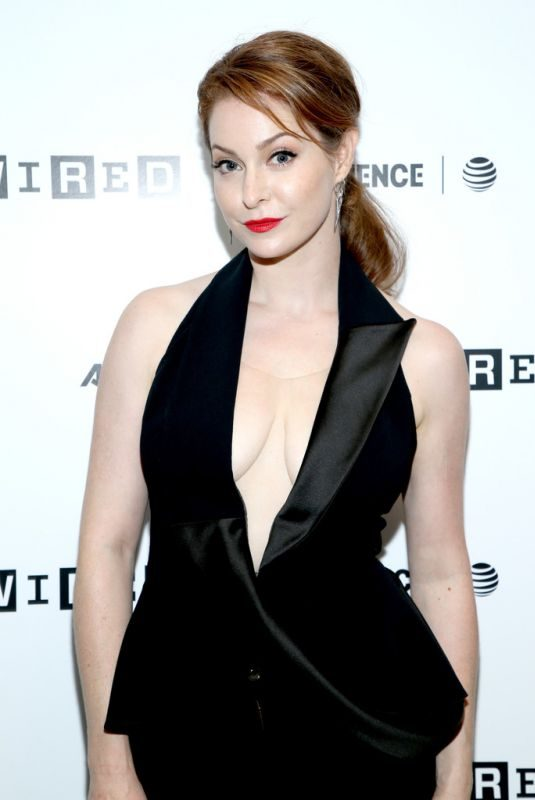 ESME BIANCO at 2018 Wired Cafe at Comic-con in San Diego 07/19/2018