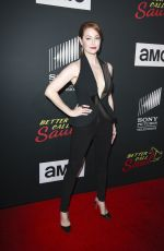 ESME BIANCO at Better Call Saul Season 4 Premiere at Comic-con in San Diego 07/19/2018