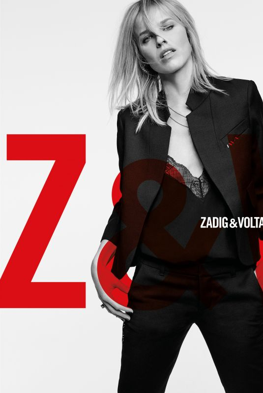 EVA HERZIGOVA for Zadiget Voltaire, July 2018