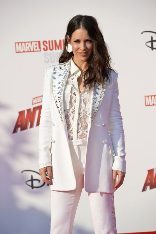 EVANGELINE LILLY at Ant-Man and The Wasp Premiere in Paris 07/14/2018
