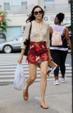 FAMKE JANSSEN Out and About in New York 07/24/2018