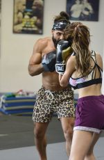 FARRAH ABRAHAM and Jeremy Jackson Working Out at 10th Planet Jiu Jitsu Gym in Los Angeles 07/23/2018