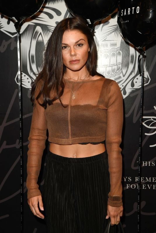 FAYE BROOKES at Il Sarto Mens Wear Clothing Launch in Manchester 07/19/2018