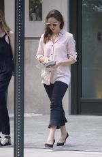 FELICITY JONES Out and About in New York 07/20/2018