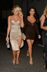 FERNE MCCANN, DANIELLE ARMSTRONG and JESSICA WRIGHT at Sexy Fish in London 07/28/2018