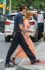 FLORENCE WELCH Out and About in New York 07/28/2018