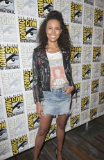 FOLA EVANS-AKINGBOLA at Siren Photocall at Comic-con in San Diego 07/19/2018