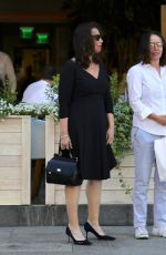 FRAN DRECHER Out for Lunch at Avra in Beverly Hills 07/23/2018