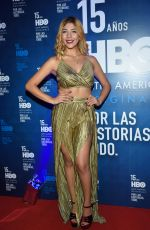 FRIDA URBINA at HBO Latin America 15th Anniversary in Mexico City 07/18/2018