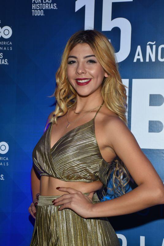 FRIDA URBINA at HBO Latin America 15th Anniversary in Mexico City 07/18/2018