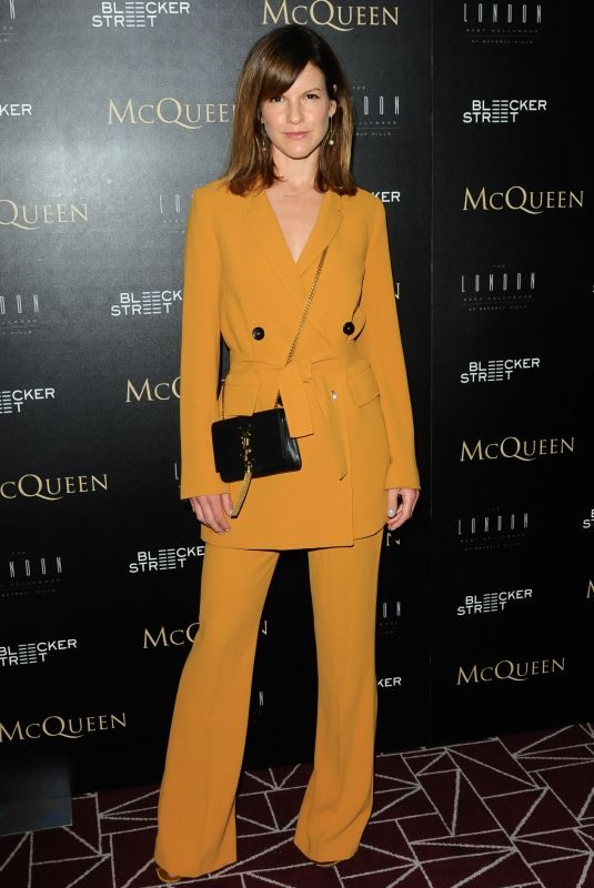 FUSCHIA SUMNER at McQueen Special Screening in Los Angeles 07/16/2018
