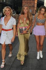 GABBY DAWN ALLEN, GEORGIA HARRISON, CARA DE LA HOYDE and TYNE LEXY at Boohoo Event in Liverpool 07/05/2018