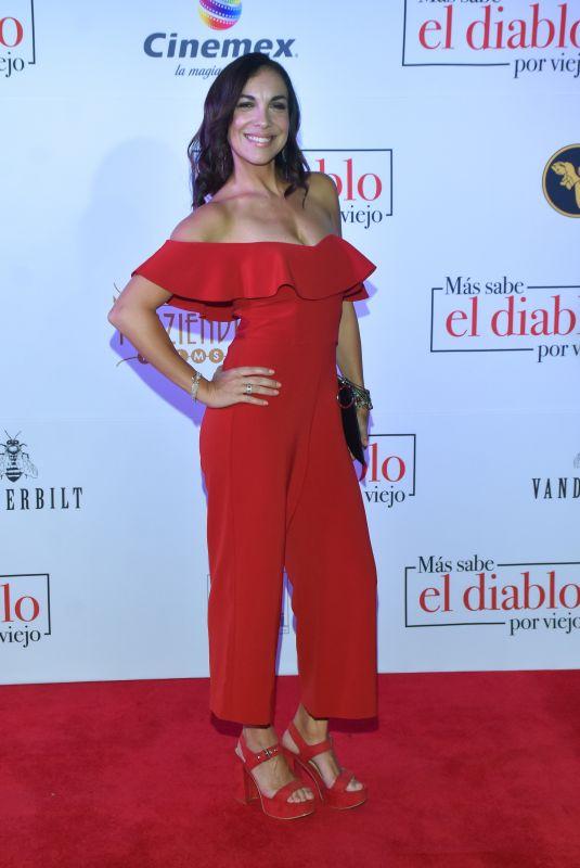 GABRIELA STECK at Mas Sabe El Diablo Por Viejo Premiere in Mexico City 07/19/2018