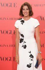 GARBINE MUGURUZA at Vogue Spain 30th Anniversary Party in Madrid 07/12/2018