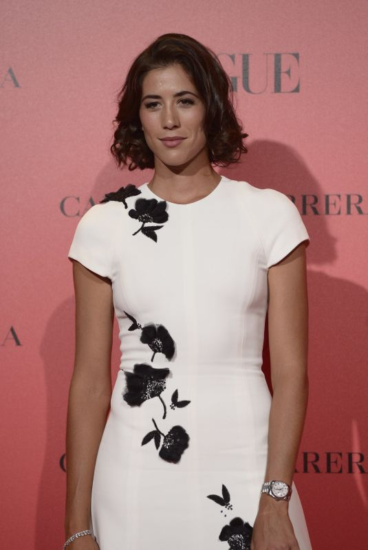 GARBINE MUGURUZA at Vogue Spain 30th Anniversary Party in Madrid 07/12/2018