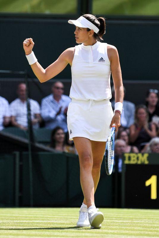 GARBINE MUGURUZA at Wimbledon Tennis Championships in London 07/03/2018