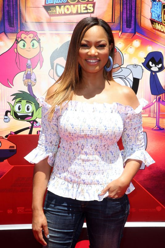 GARCELLE BEAUVAIS at Teen Titans Go! to the Movies Premiere in Los Angeles 07/22/2018