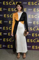 GEMMA ARTERTON at The Escape Screening in London 07/19/2018