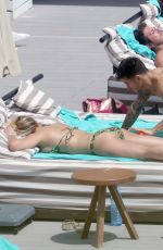GEMMA ATKINSON in Bikini at a Pool in Ibiza 07/07/2018