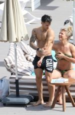 GEMMA ATKINSON in Bikini at a Pool in Ibiza 07/10/2018