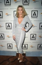 GEMMA MERNA at Umbrella Charity Ball in Manchester 07/07/2018