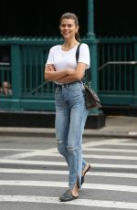 GEORGIA FOWLER in Jeans Out in New York 06/27/2018