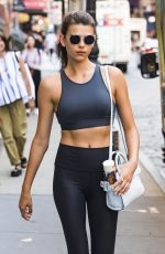 GEORGIA FOWLER Leaves a Yoga Class in New York 07/09/2018