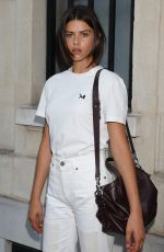 GEORGIA FOWLER Out and About in Paris 07/04/2018