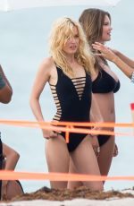 GEORGIA MAY JAGGER in Bikini at a Photoshoot in Miami 07/12/2018