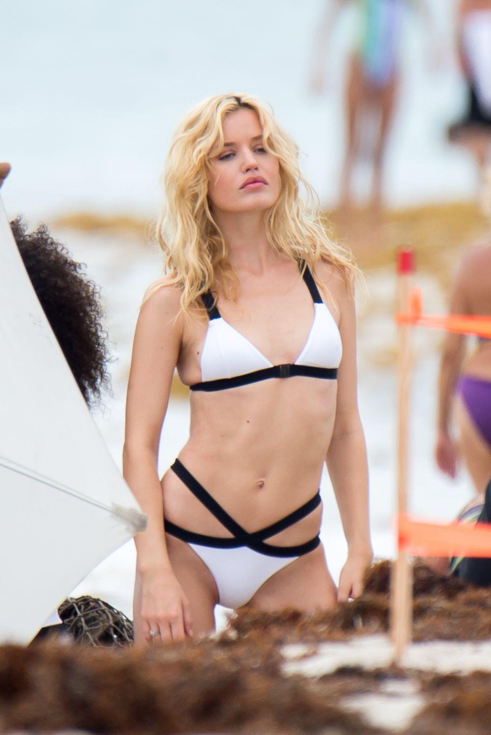 Georgia may jagger for bikini and swimsuit photoshoot in miami