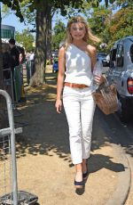 GEORGIA TOFFOLO at 2018 Wimbledon Tennis Tournament Final in London 07/15/2018
