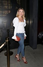 GEORGIA TOFFOLO at ITV Summer Party in London 07/19/2018