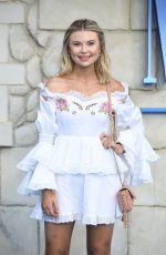 GEORGIA TOFFOLO at Mamma Mia Here We Go Again Premiere in London 07/16/2018
