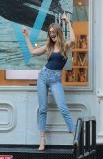 GIGI HADID at V Magazine Offices in New York 07/10/2018