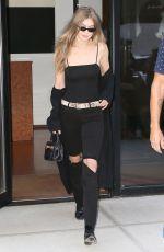 GIGI HADID Heading to Taylor Swift Concert in New York 07/20/2018