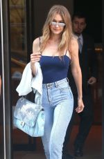 GIGI HADID in Denim Out in New York 07/10/2018