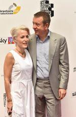 GILLIAN ANDERSON and Peter Morgan at Southbank Sky Arts Awards 2018 in London 07/01/2018