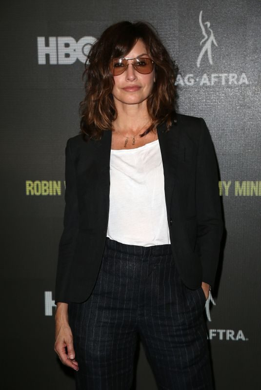 GINA GERSHON at Robin Williams: Come Inside My Mind Premiere in New York 07/12/2018