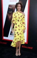GINA TORRES at The Equalizer 2 Premiere in Los Angeles 07/17/2018